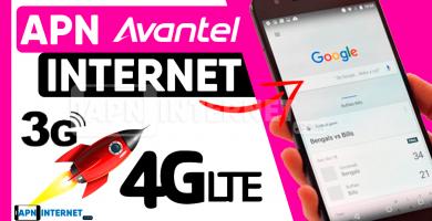 apn avantel 4g internet gratis