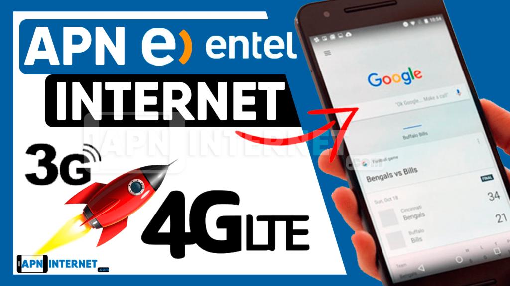 apn entel 4g chile internet gratis