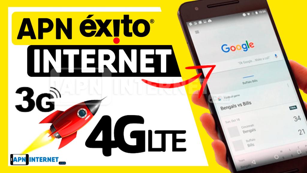 apn exito 4g colombia internet gratis