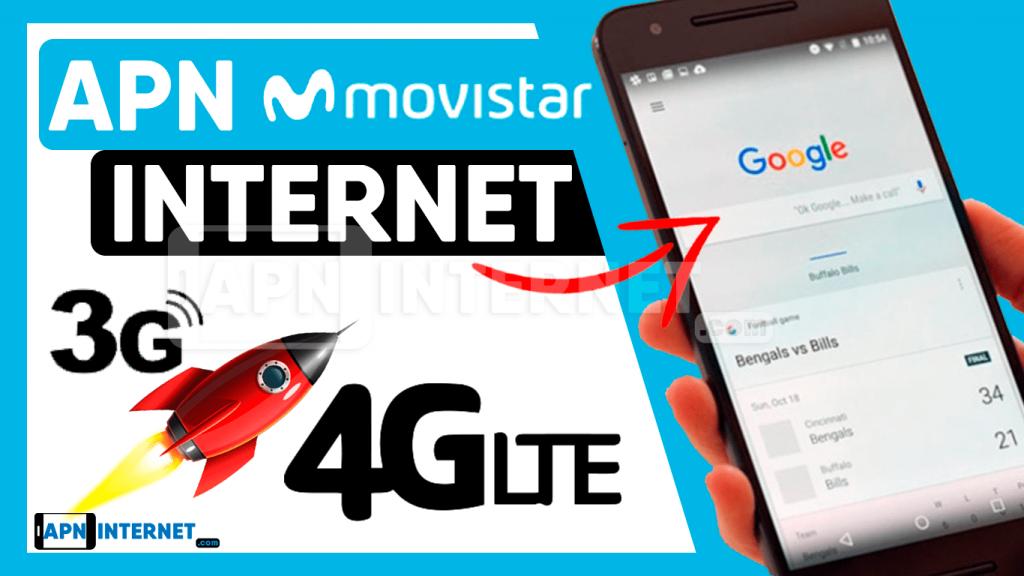 apn 4g movistar chile internet gratis