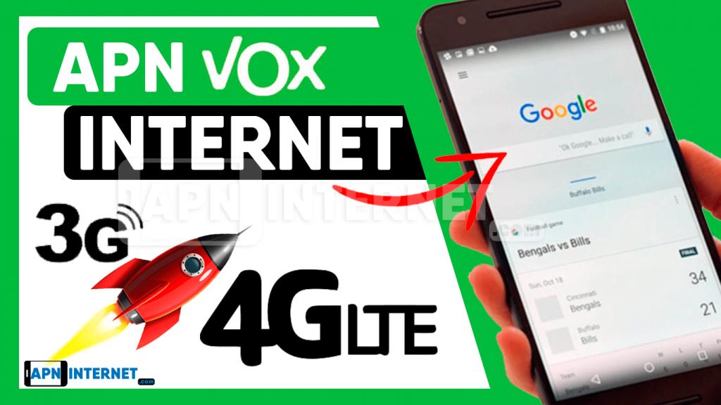 apn vox 4g paraguay internet gratis