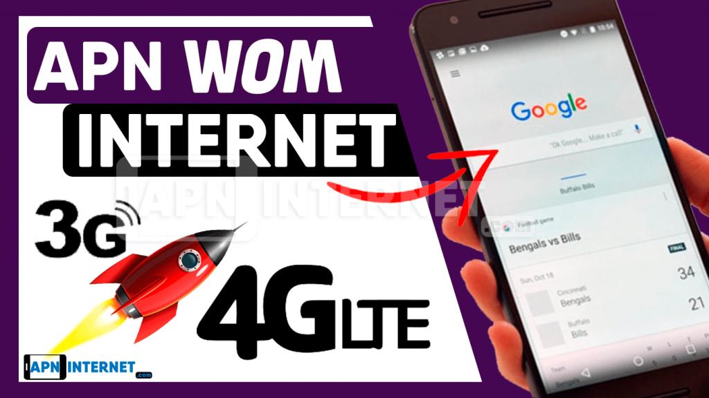 apn wom 4g internet gratis