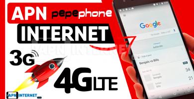 apn pepephone internet gratis