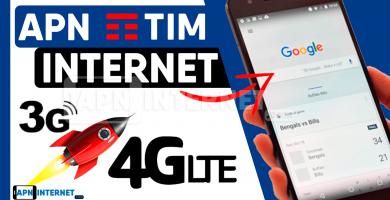 apn tim brasil internet gratis