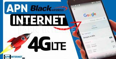 black wireless apn settings