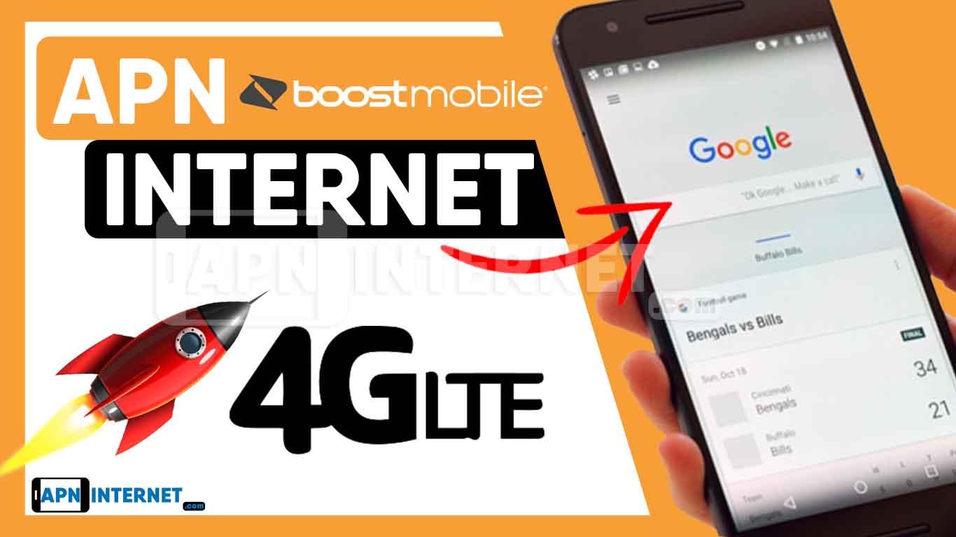 ▷ Boost Mobile APN Settings【2020】⇒ 4G