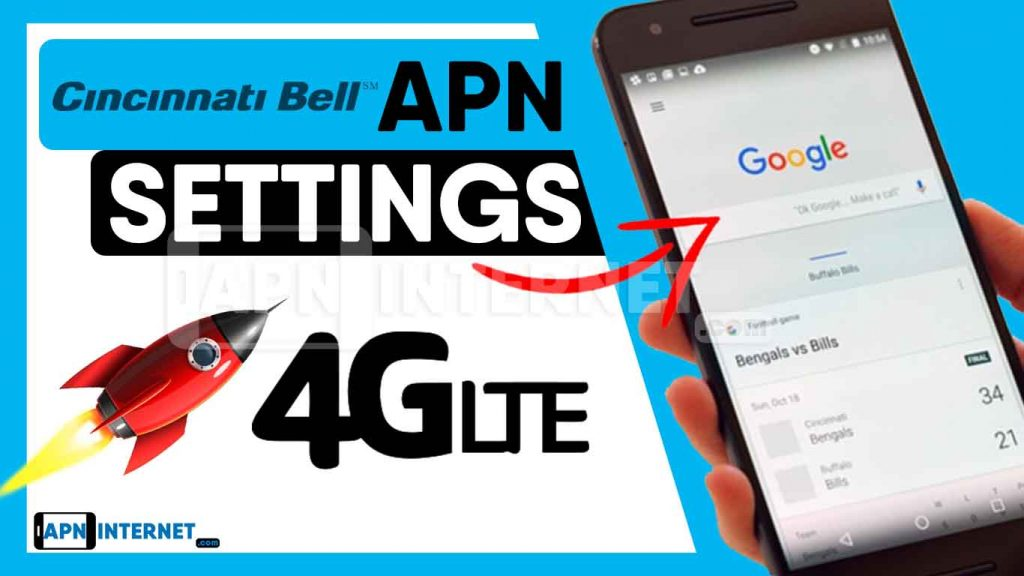 cincinnati bell apn settings