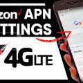 Verizon apn settings