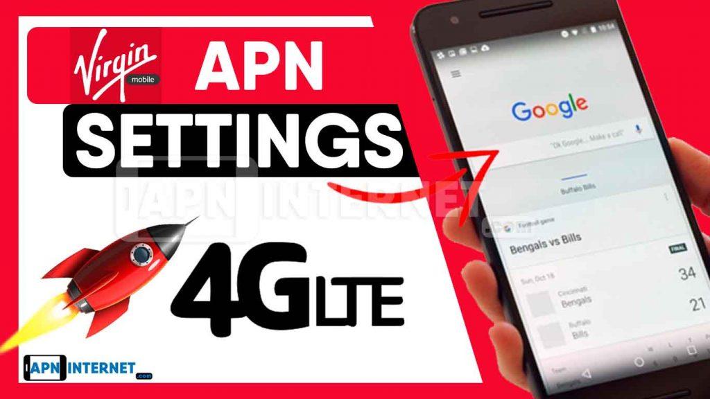 Virgin Usa Apn Settings 2020 4g Lte Internet Connection