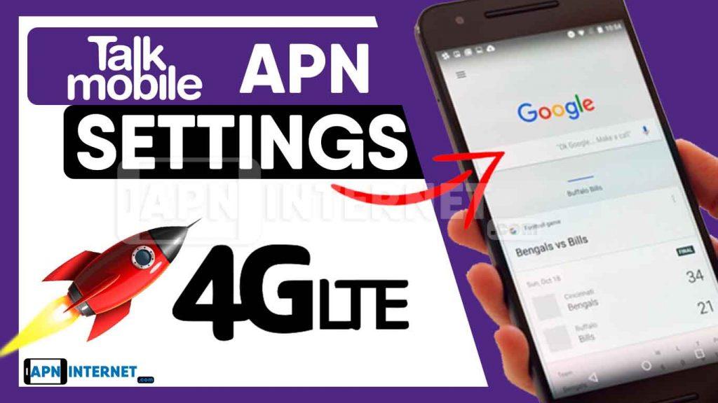 talk mobile apn settings