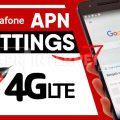 vodafone uk apn settings