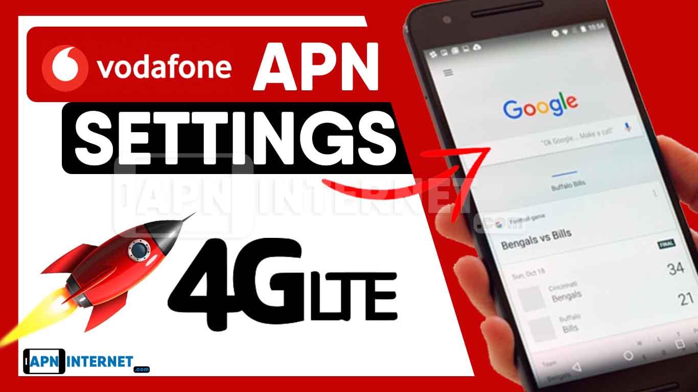 Vodafone APN Settings【2020】⇒ 4G LTE Internet Connection